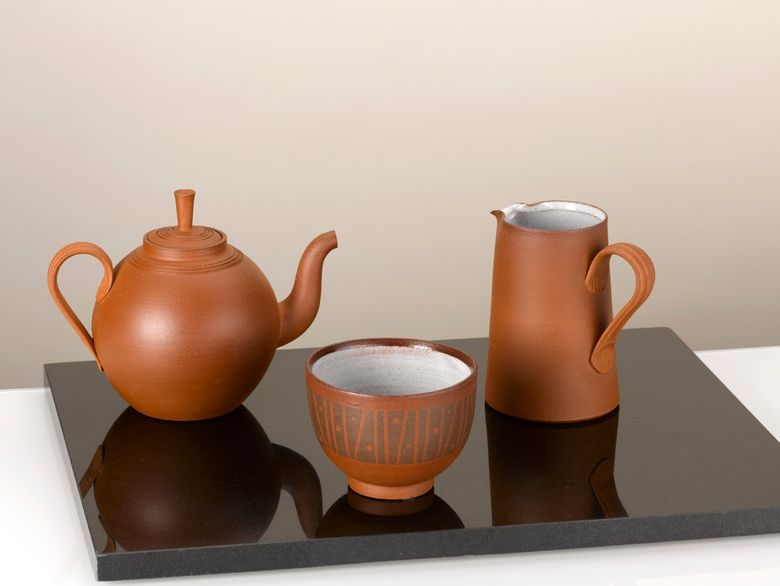 Teapot and Jug